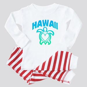 Hawaii Sea Turtle Baby Pajamas