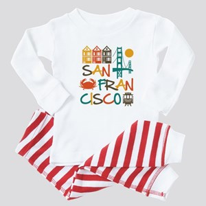 San Francisco Baby Pajamas