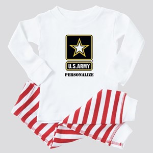 Personalize US Army Baby Pajamas