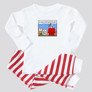 Flying Ace's Farewell Baby Pajamas