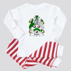 Foster Family Crest Baby Pajamas