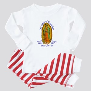 Our Lady of Guadalupe Baby Pajamas