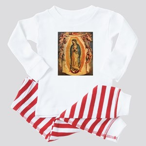 Virgin Of Guadalupe Baby Pajamas