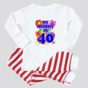 MOMMY BIRTHDAY Baby Pajamas