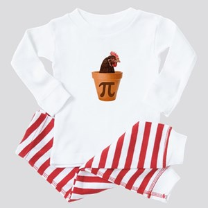 Chicken Pot Pi (and I dont care) Baby Pajamas