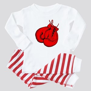 Red Boxing Gloves Baby Pajamas