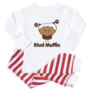 Stud Muffin Baby Pajamas