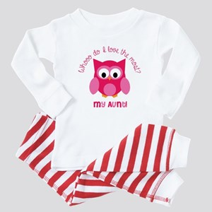 Who? My aunt! Baby Pajamas