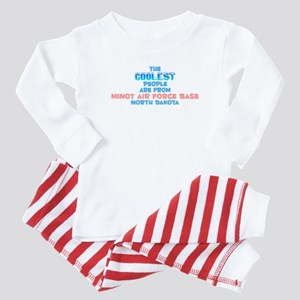 Coolest: Minot Air Forc, ND Baby Pajamas