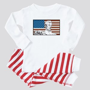 Lincoln Memorial Baby Pajamas