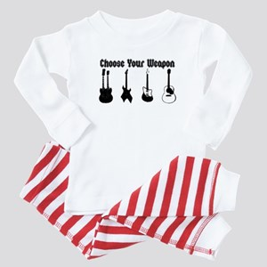 Choose Your Weapon Baby Pajamas