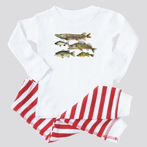 All fish Baby Pajamas
