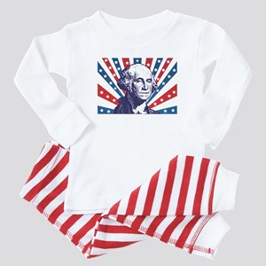 george washington Baby Pajamas