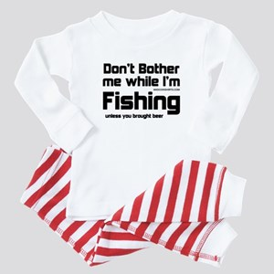 Don't Bother Me When I'm Fish Baby Pajamas