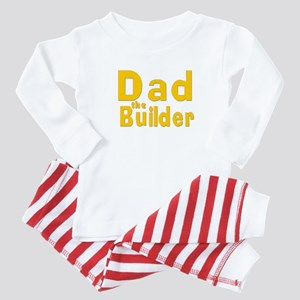 Dad the Builder Baby Pajamas