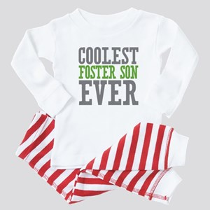 Coolest Foster Son Ever Baby Pajamas