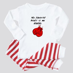 My Favorite Boxer Is My Daddy Baby Pajamas