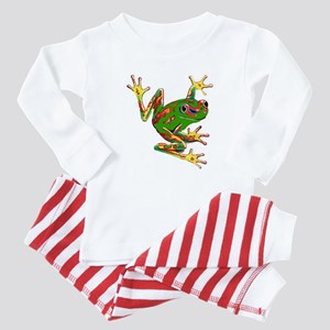Tree Frog Baby Pajamas