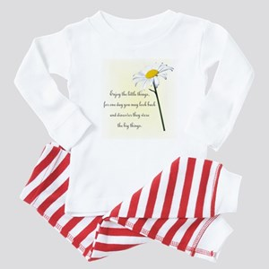 Little Things Daisy Baby Pajamas