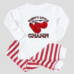 ...Daddy`s Little Champ... Baby Pajamas