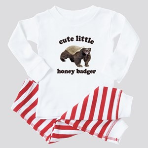 Cute Lil Honey Badger Baby Pajamas