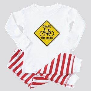 Share The Road Baby Pajamas