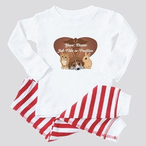 Personalized Veterinary Baby Pajamas