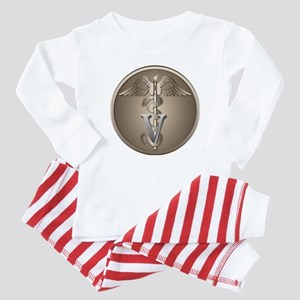 Veterinary Caduceus Baby Pajamas