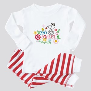 4ac3a57a334a Cute Valentines Day Baby Pajamas - CafePress