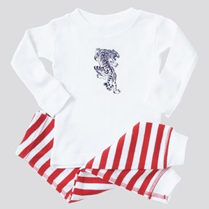 White Tiger  Baby Pajamas