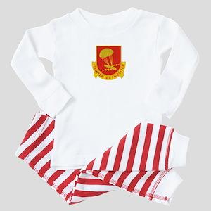 377th FA Regiment Baby Pajamas