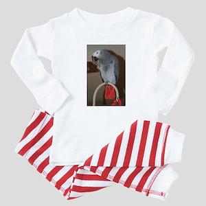 Red Butt Baby Pajamas