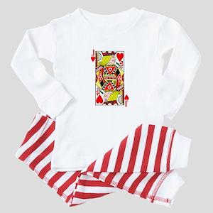 Jack of Hearts Baby Pajamas