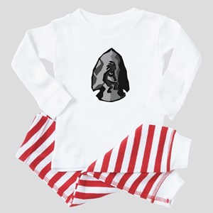 Arrowhead Baby Pajamas