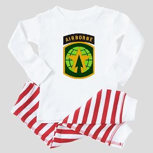 16TH MILITARY POLICE BRIGADE AIRBORNE Baby Pajamas