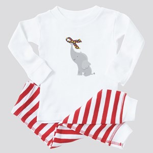 Autism Elephant Awareness Baby Pajamas