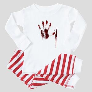 The Red Hand Baby Pajamas