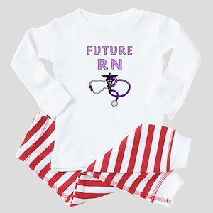 RN Nurse Medical Baby Pajamas