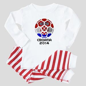 Croatia World Cup 2014 Baby Pajamas