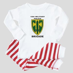 18TH MILITARY POLICE BRIGADE Baby Pajamas