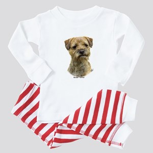 Border Terrier 9A21D-19 Baby Pajamas