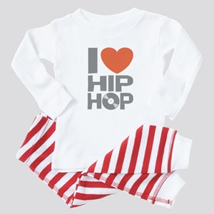 I Love Hip Hop Baby Pajamas