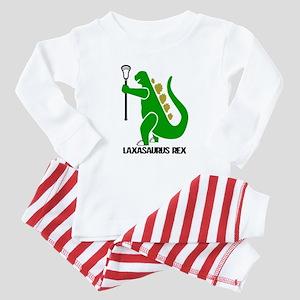 Lacrosse Laxasaurus 1 Baby Pajamas