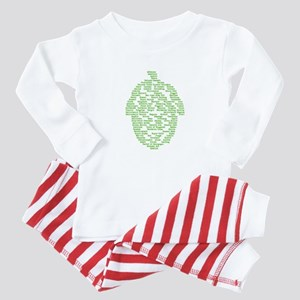 Hops of The World Baby Pajamas