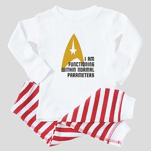 Star Trek - Normal Parameters Baby Pajamas