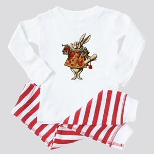Alice White Rabbit Vintage Baby Pajamas