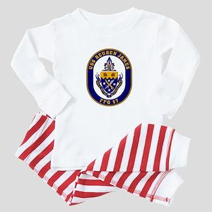 USS Reuben James Baby Pajamas