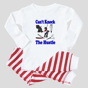 Cant Knock The Hustle-Blue Infant Bodysuit