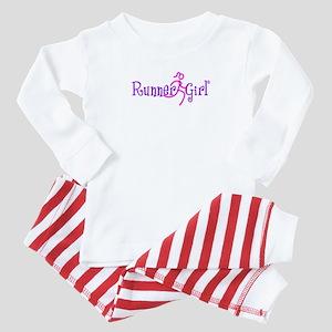 Runnergirl Baby Pajamas Suit
