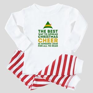 Elf - Singing Loud Baby Pajamas